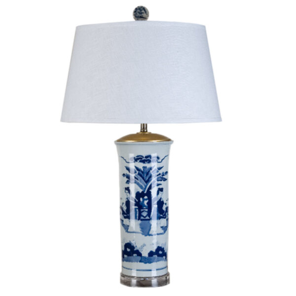 CHINOSERIE TABLE LAMP