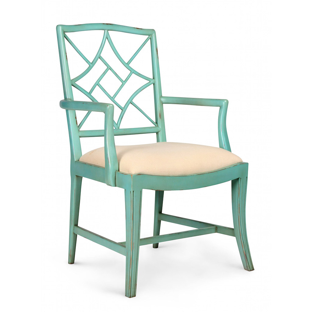 EVELYN ARMCHAIR SEAFOAM GREEN