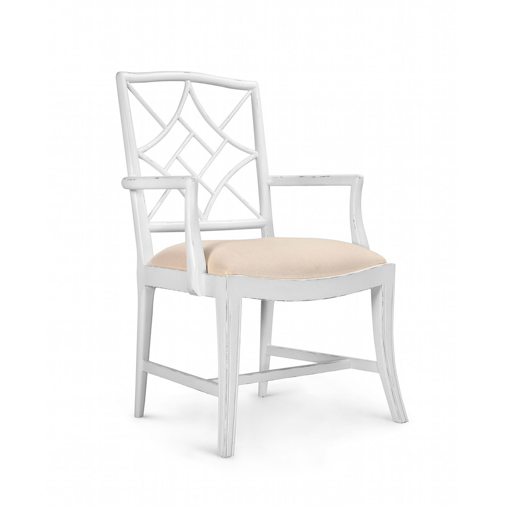 EVELYN ARMCHAIR WHITE