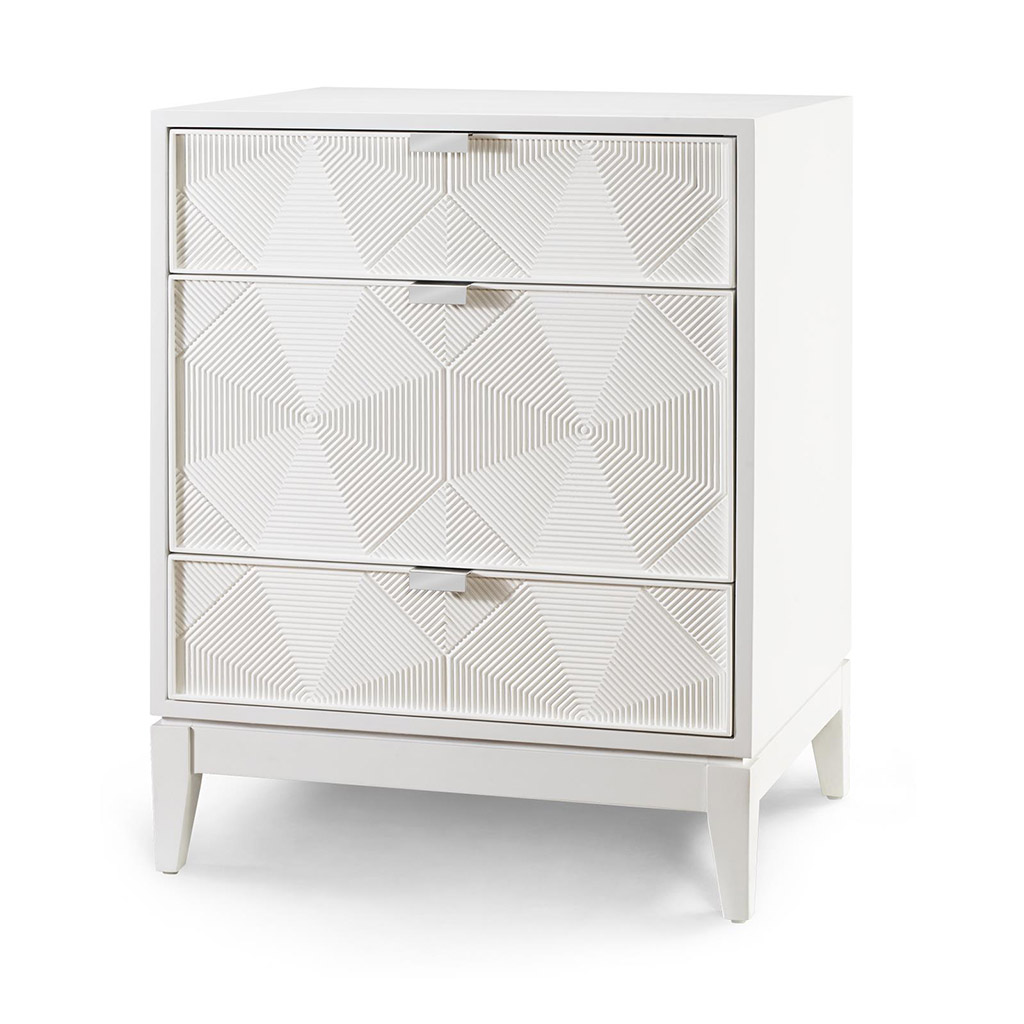 GIO PONTI 3-DRAWER SIDE TABLE