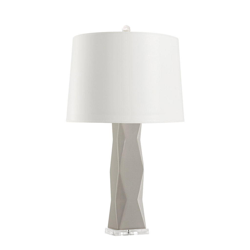 MOLINO TABLE LAMP GRAY