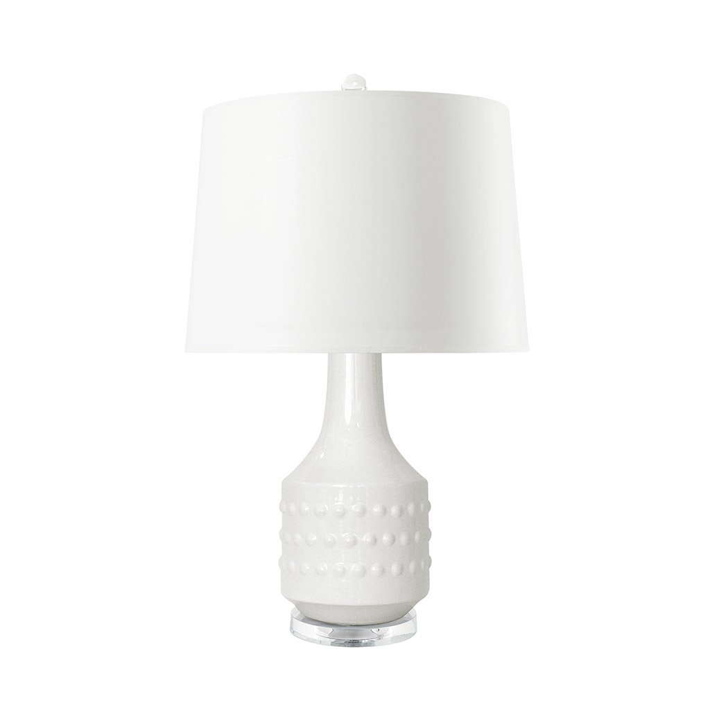 MARIAH TABLE LAMP WHITE