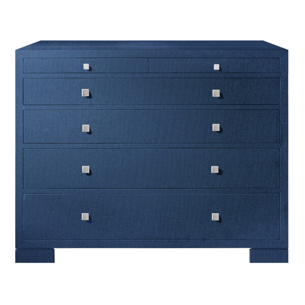 LACQUERED PALMWOOD CONSOLE TABLE NAVY