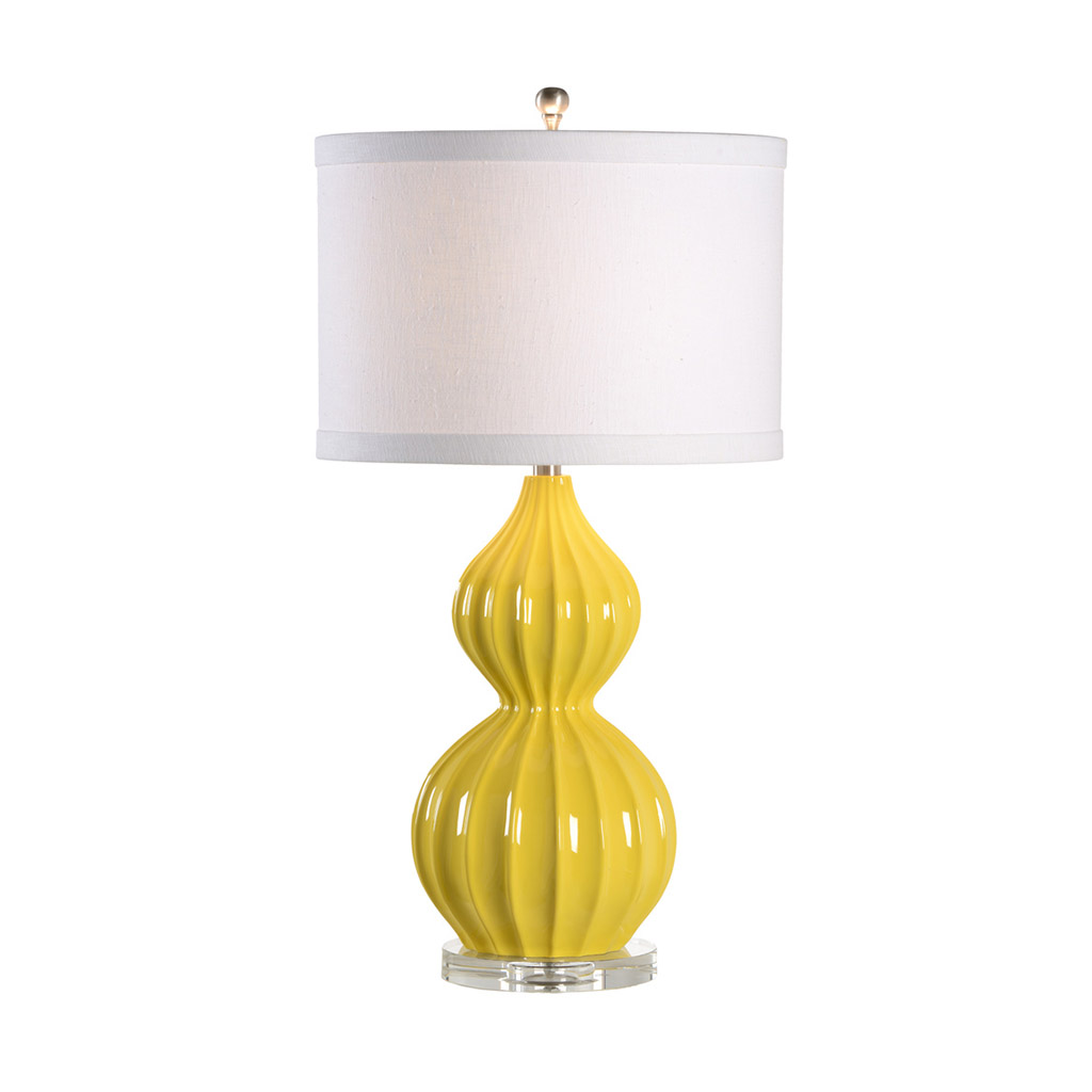 LAUREN TABLE LAMP - CITRUS