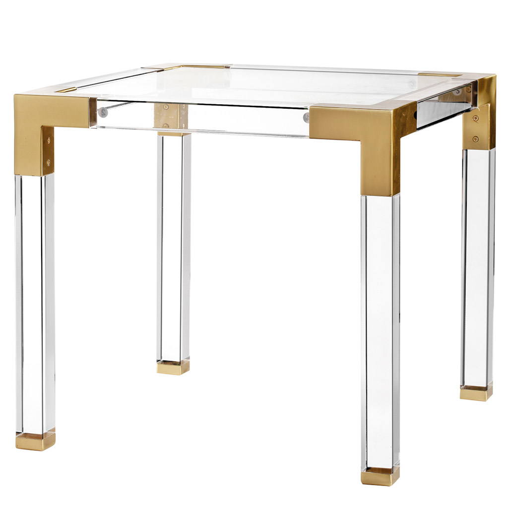 GLASS & ACRYLIC BUNCHING TABLE