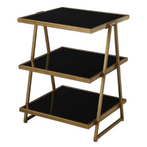 TRI-LAYERED ACCENT TABLE