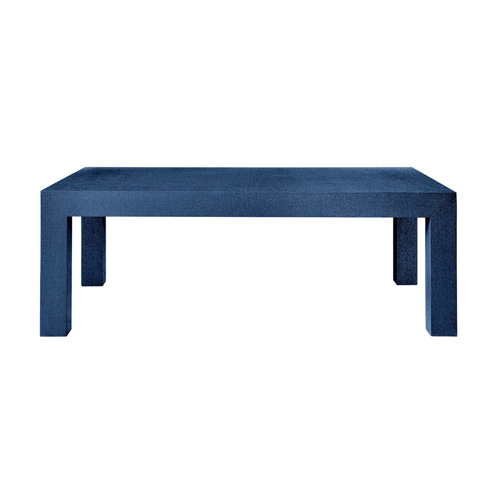 PARSONS COFFEE TABLE NAVY