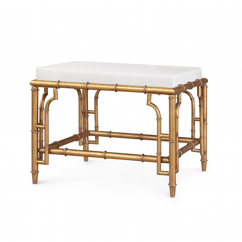 COLLETTE STOOL GOLD