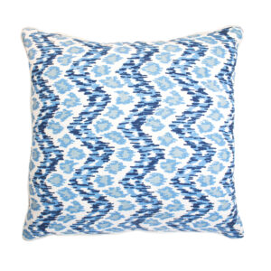 QUADRILLE CHINA SEAS PILLOW - BLUE