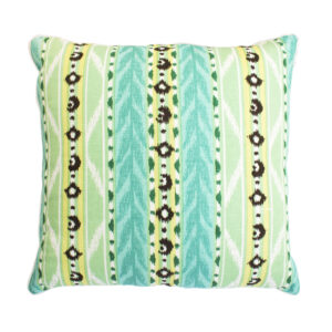 QUADRILLE CHINA SEAS PILLOW - GREEN & YELLOW