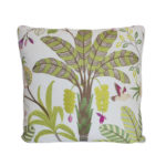 TROPICAL EMBROIDERY PILLOW