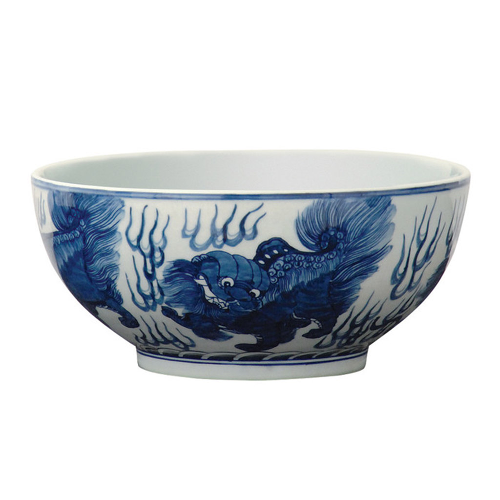 CHOW BLUE BOWL