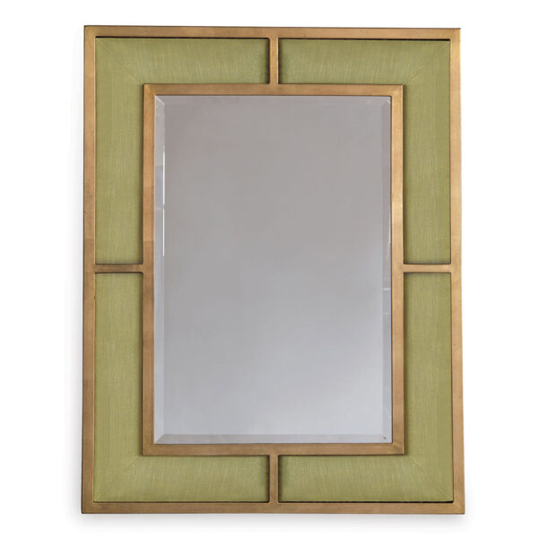 BEDFORD GOLD MIRROR - GREEN