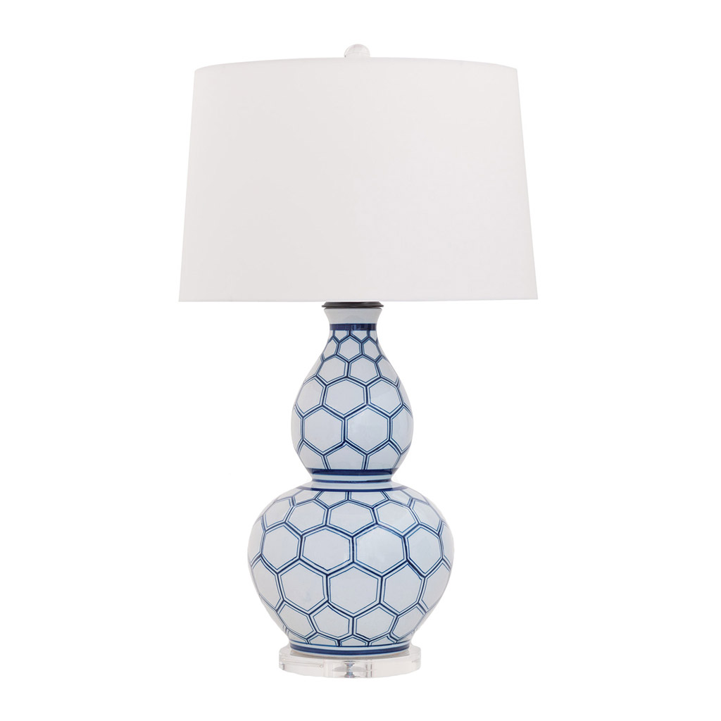KENILWORTH TABLE LAMP - BLUE