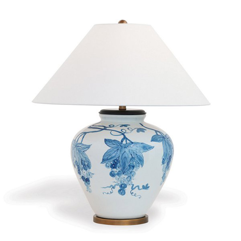 NAPA TABLE LAMP - BLUE