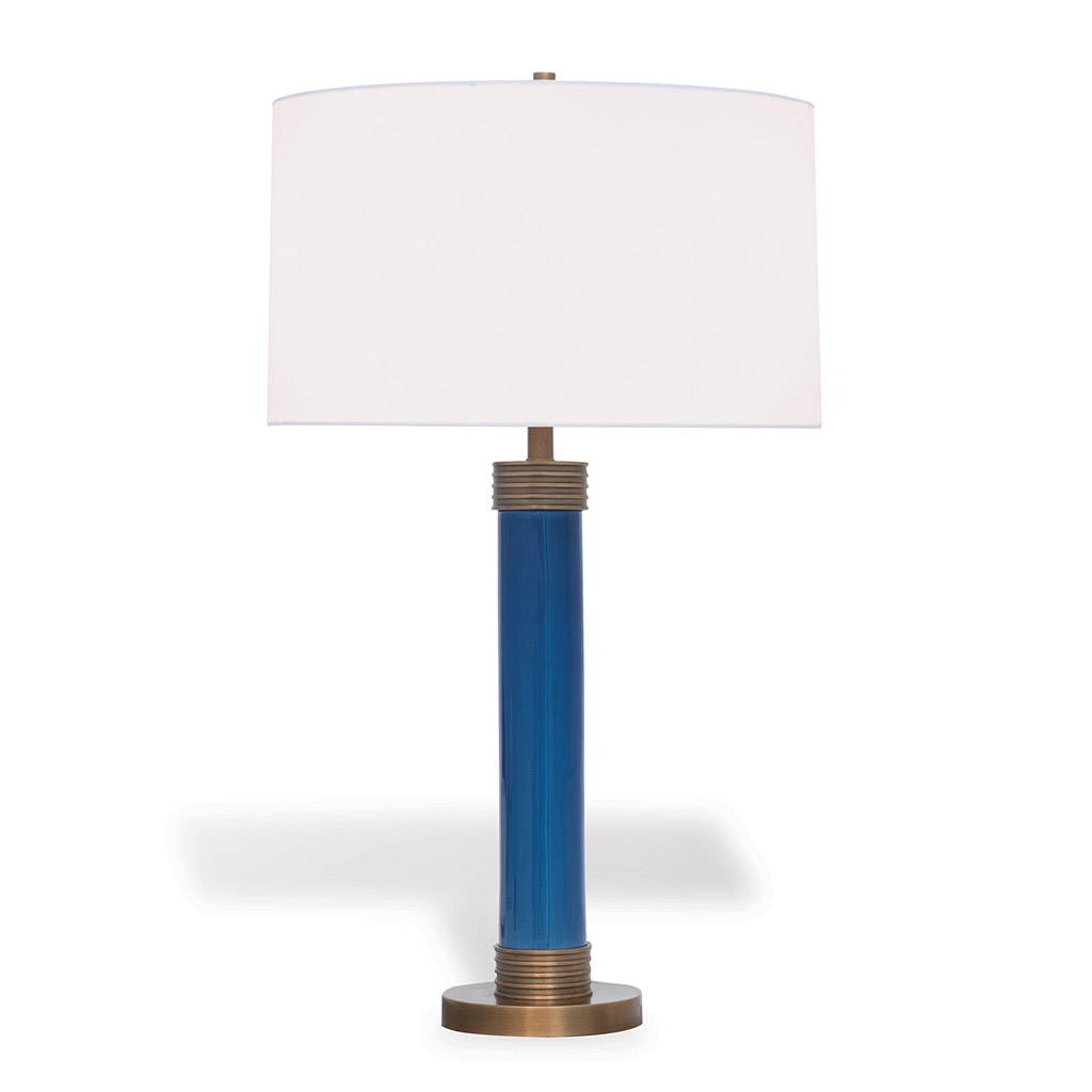 DEARBORN TABLE LAMP - BLUE