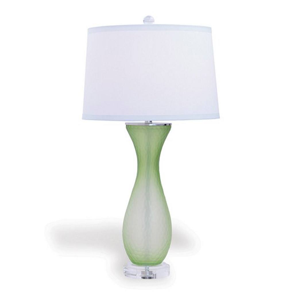 LAKEVIEW TABLE LAMP - GREEN