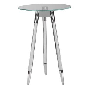 JONET ACCENT TABLE, Nickel